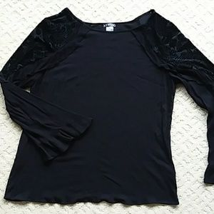 Venus black blouse